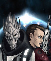 ME3: We Face Our Enemy Together by Lynntendo-64