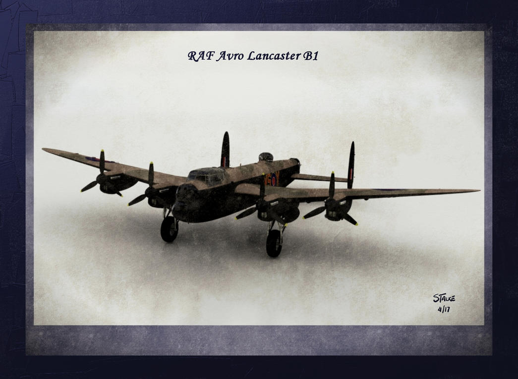 Royal Air Force Avro Lancaster B I by RedFoxST66