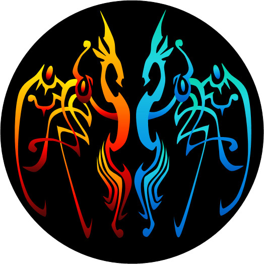 Fye tattoo fire and ice by civyk on deviantart for Fire and ice tattoo shop