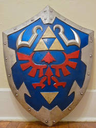 Hylian Shield -Ocarina of Time by BryanRogers