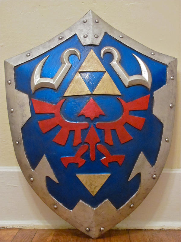 Hylian Shield -Ocarina of Time by BryanRogers
