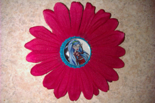 ghoulia flower clip