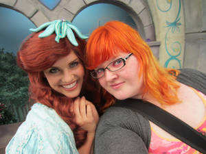 Ariel and I.
