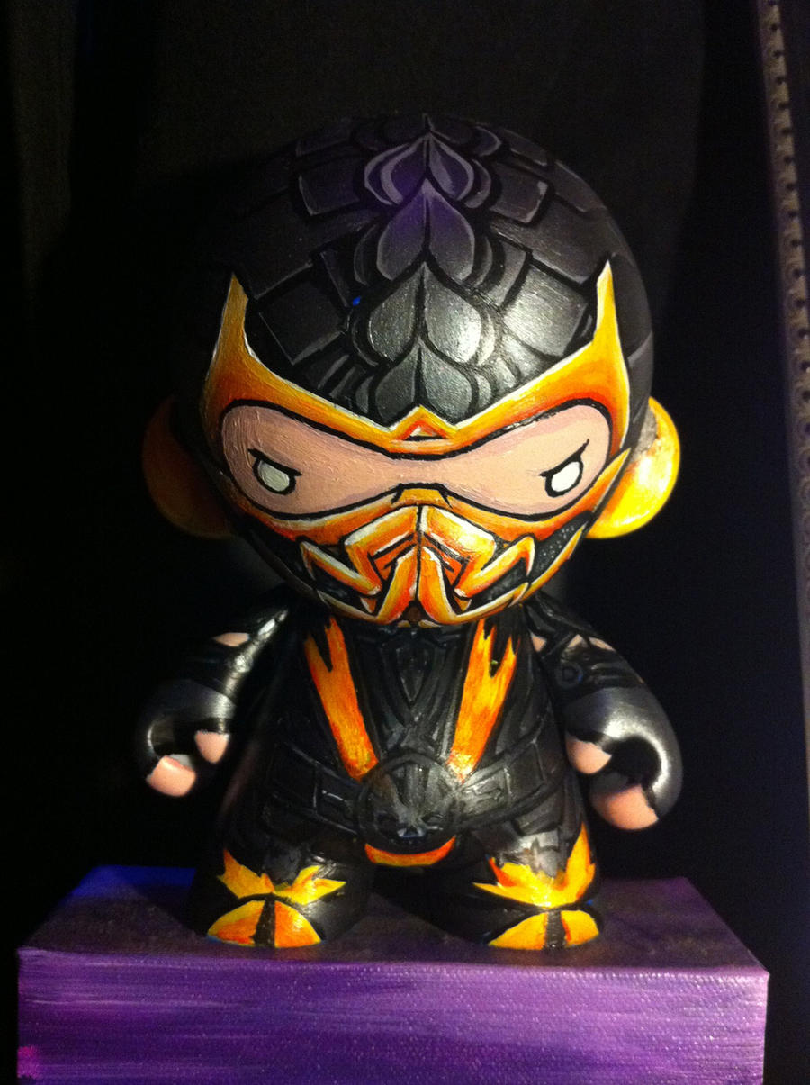 Scorpion Munny by xmacabremonsterx