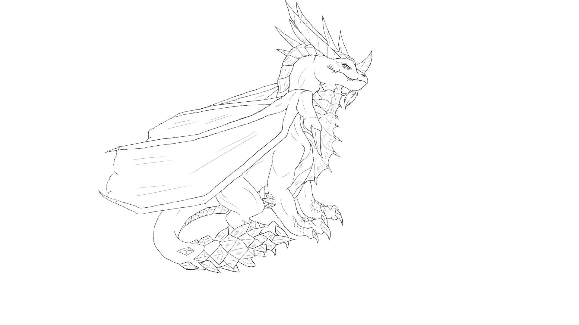 Dragon by Zierra1986
