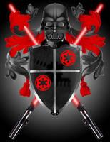 Darth Vader Coat of Arms by Skeeter-Skye