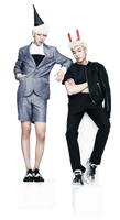 Png render : Dae Hyun y Jong Up (B.A.P) #01
