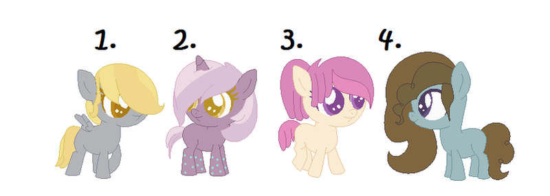 Mlp adopts #4  *closed* by Morespringbunnies