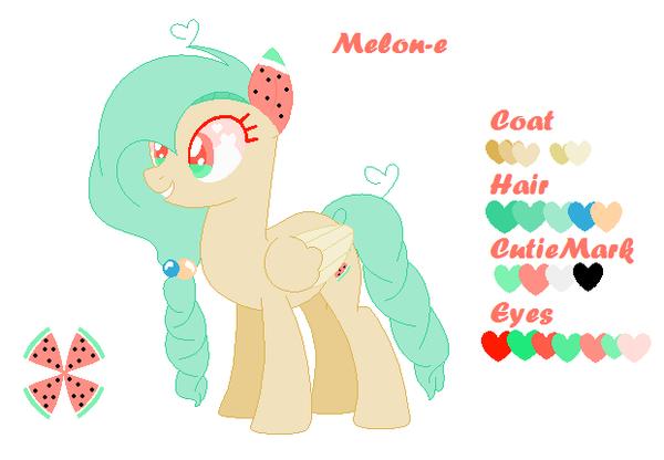 Melon-e *OC* by Morespringbunnies