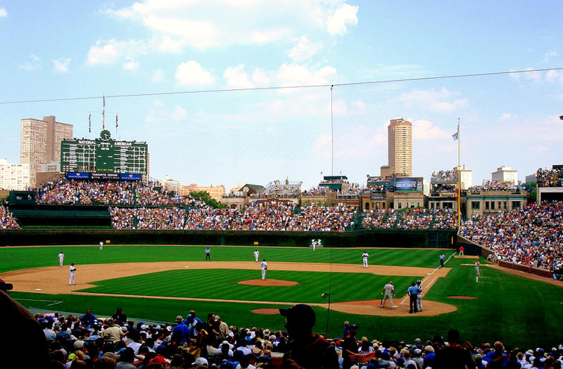 Wrigley Field by LaLiLuLeLooo