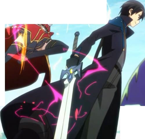 Kirito 1 / Sword Art Online by ZerolShikumai