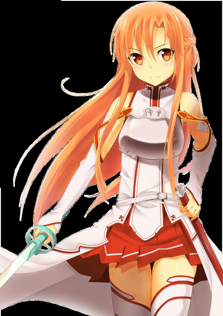 Des renders (8 Asuna_4___sword_art_online_by_zerolshikumai-d5awmt9