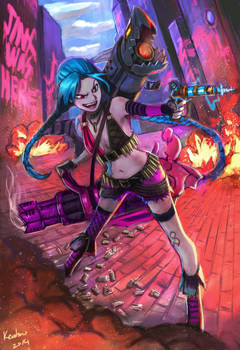 JInx from league of legend