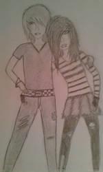 Couple by TheFeronix
