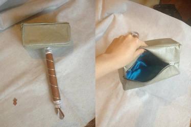 Thor's Hammer-handbag