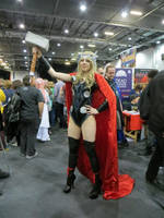 Lady Thor at Expo