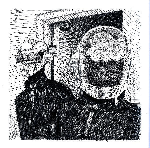 Daft Punk by PowFlip