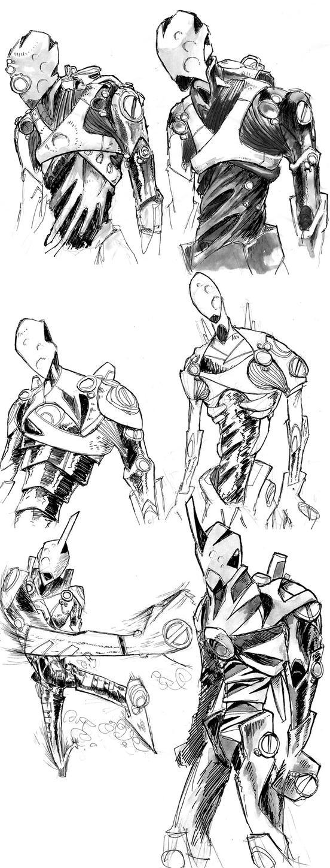 Mecha Killed the Robot Star by PowFlip