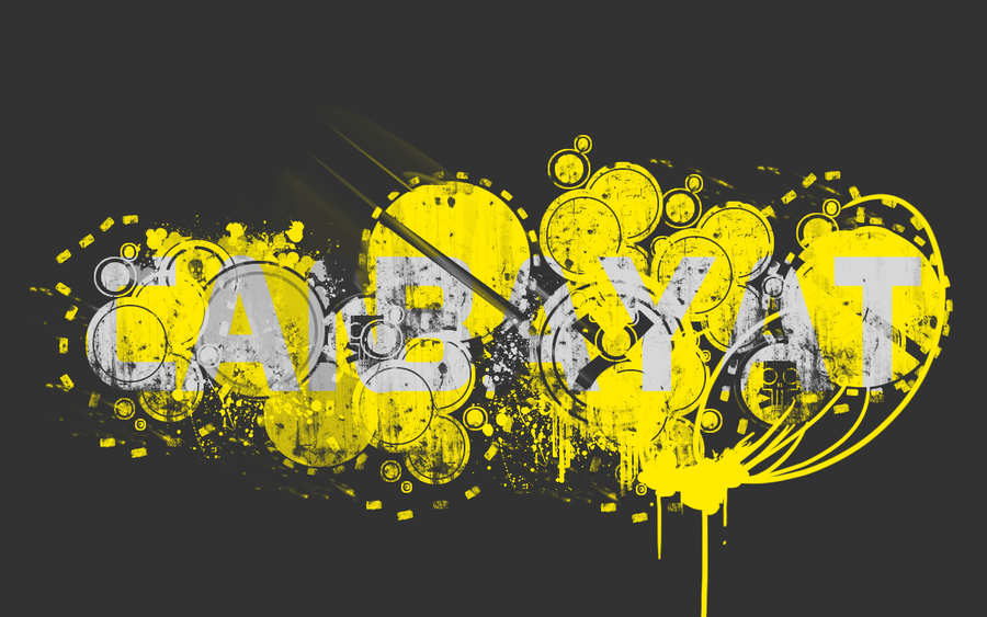 wallpaper grey yellow by nawt12 on deviantart