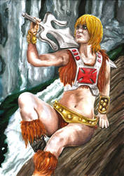 Female He-man