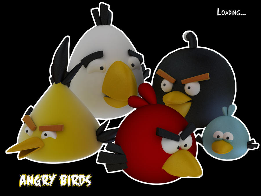 The angry birds by 16en on deviantart - Jeu info angry birds ...