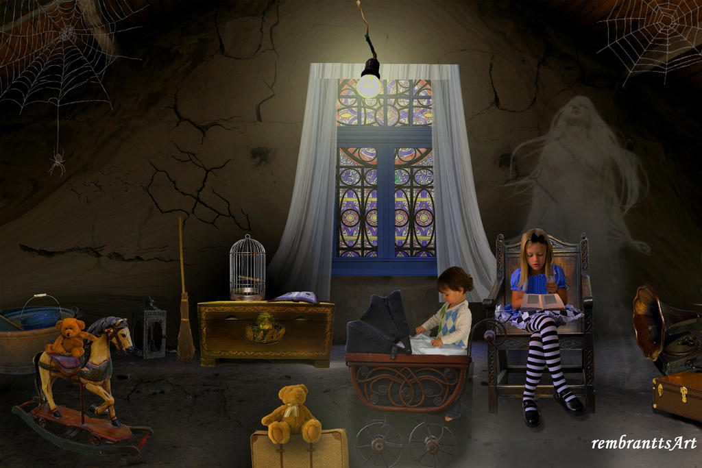 Auf dem Dachboden - In the attic