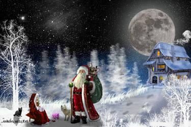 Christmas Image - Weihnachtsbild