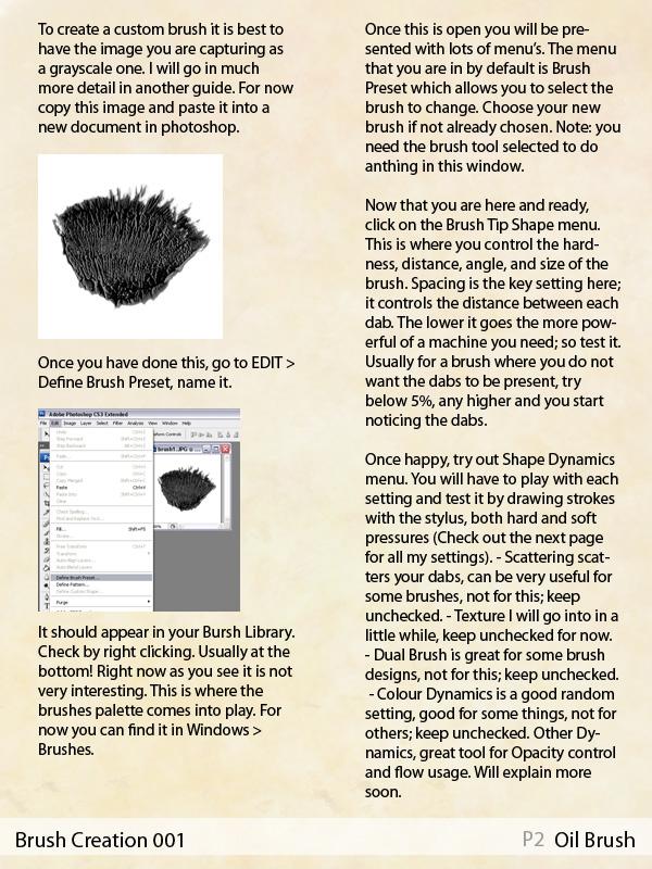Brush Creation 002 - Oil Brush by Scipio1st