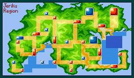 Pokemon Topaz: Jeriku Region