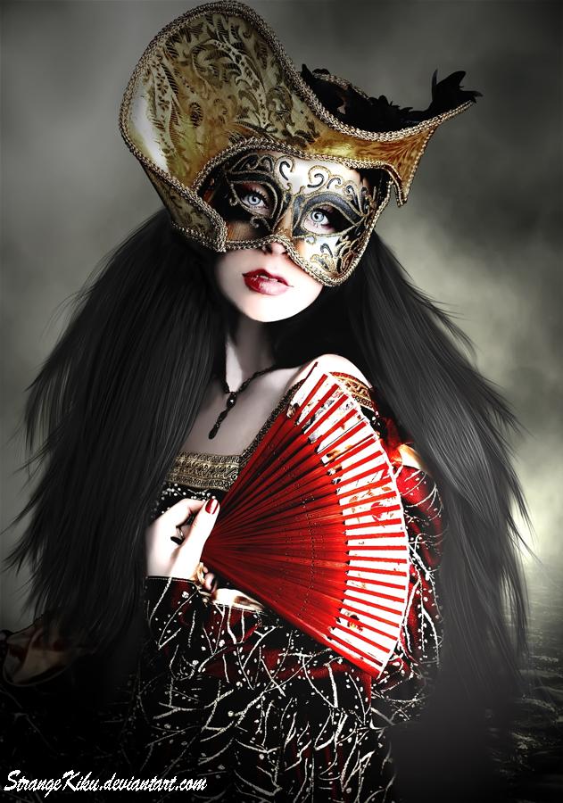 La Masquerade by StrangeKiku
