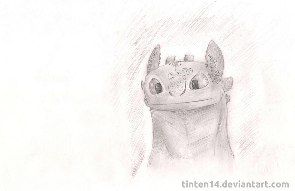 Toothless / Chimuelo by Tinten14