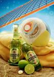 Becks Green Lemon Lifestyle