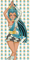 Nefera de Nile version anime