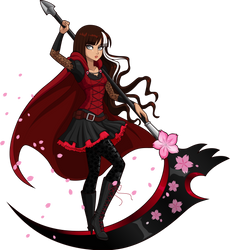 red like cerise by sparks220stars