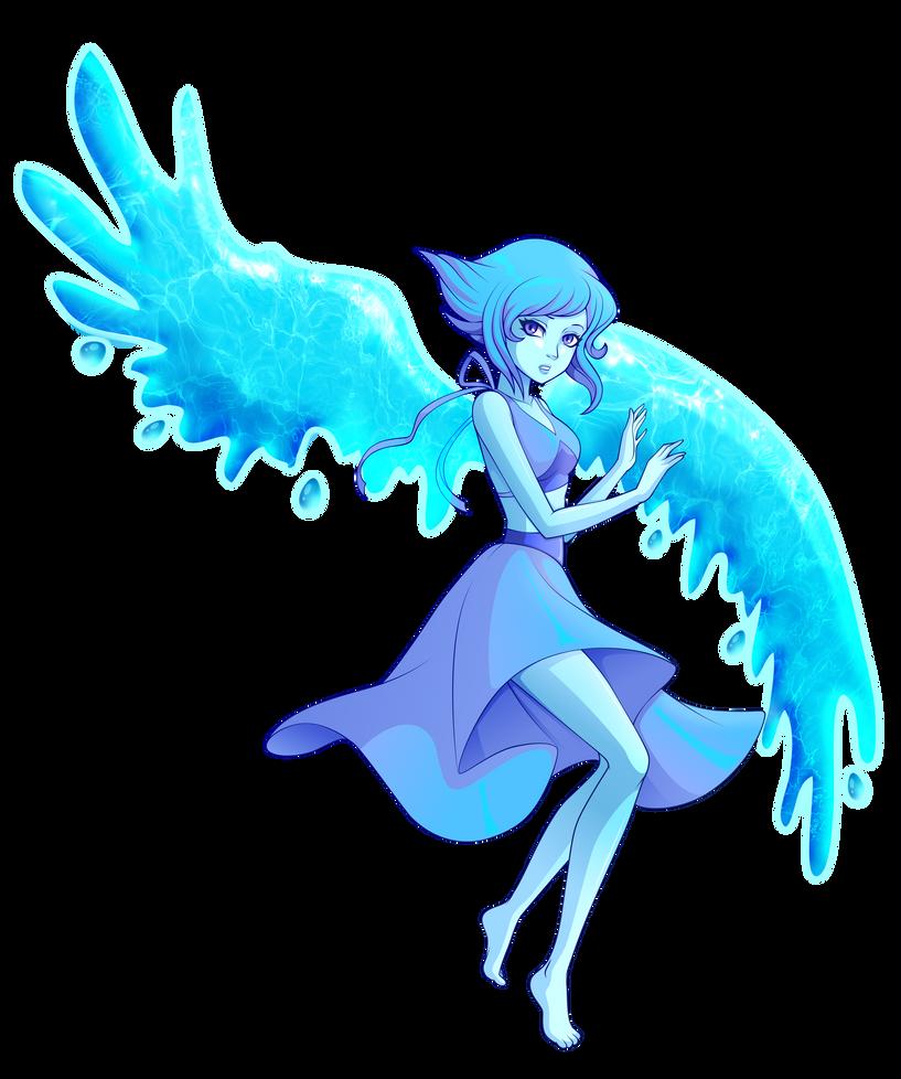 Lapis Lazuli de Steven Universe Las alas las hice en photoshop, por eso se ven diferentes, el resto en illustrator como siempre