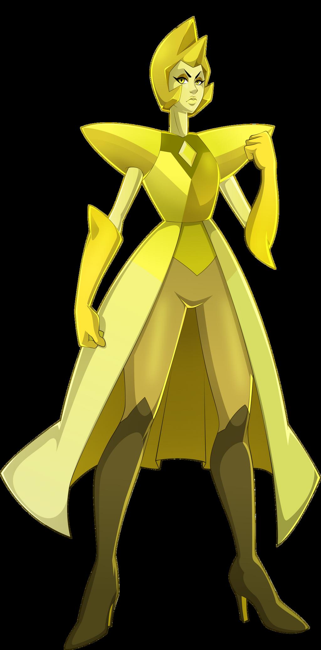 Yellow Diamond by sparks220stars on DeviantArt