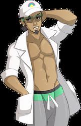 Profesor Kukui by sparks220stars