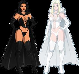 Selene and Emma
