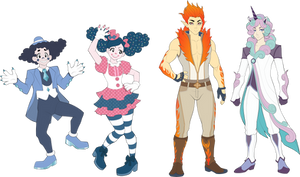 Pokemon gijinka Variantes
