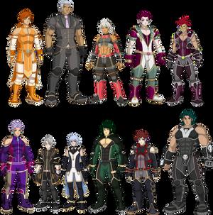 Ninja Androids XIII