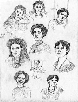 Grand Duchess Olga Nikolaevna - Concept Art I