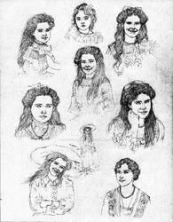 Grand Duchess Maria Nikolaevna - Concept Art I
