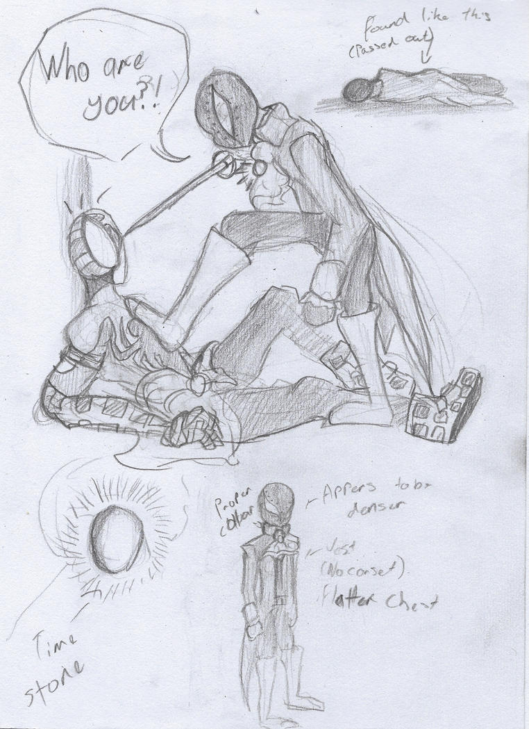 Lord Spider and the Time Infinity Stone_Plot Bunny by SpiderNinja24