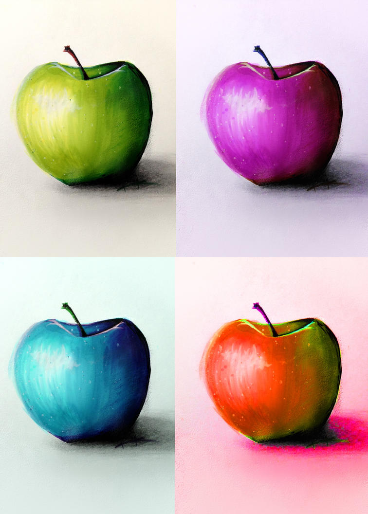 An Apple A Day by Kaspiian