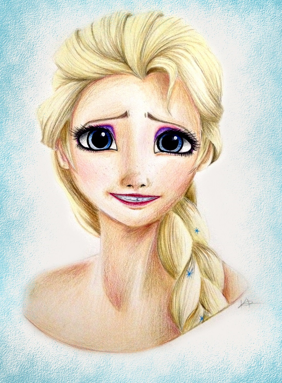 Elsa by Kaspiian