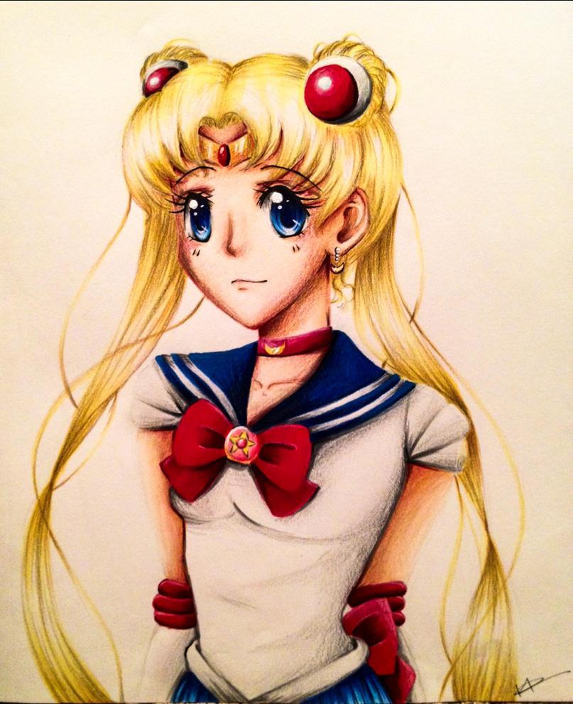 Sailor Moon by Kaspiian