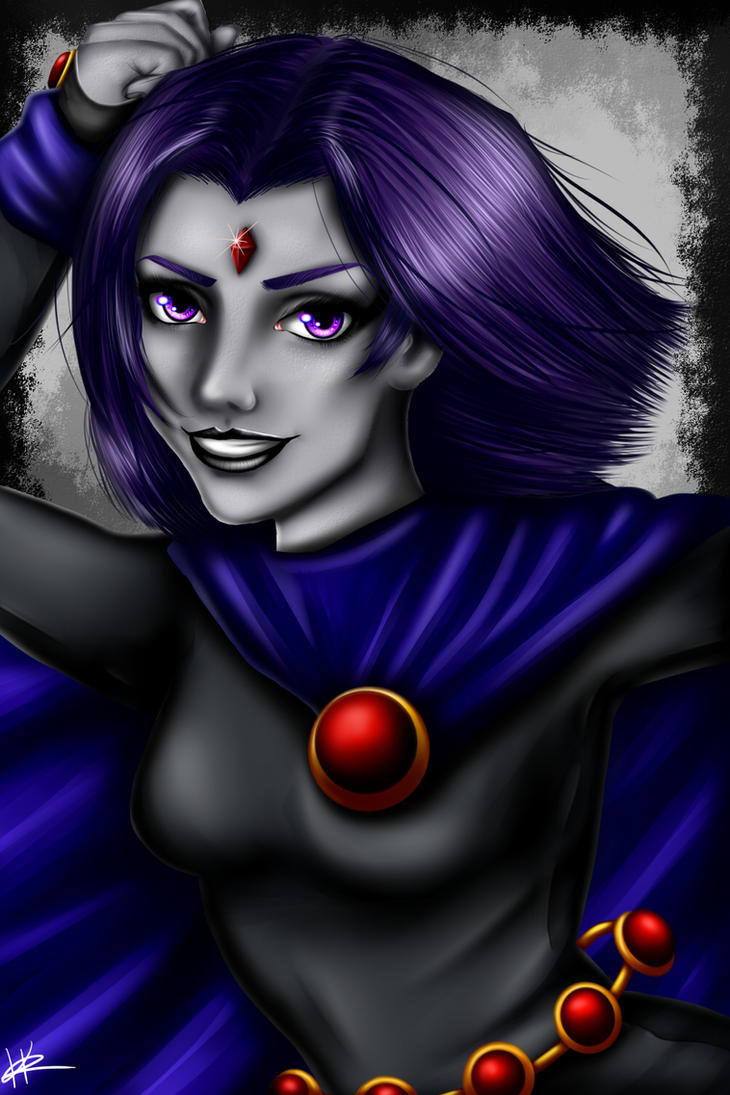 Raven by Kaspiian