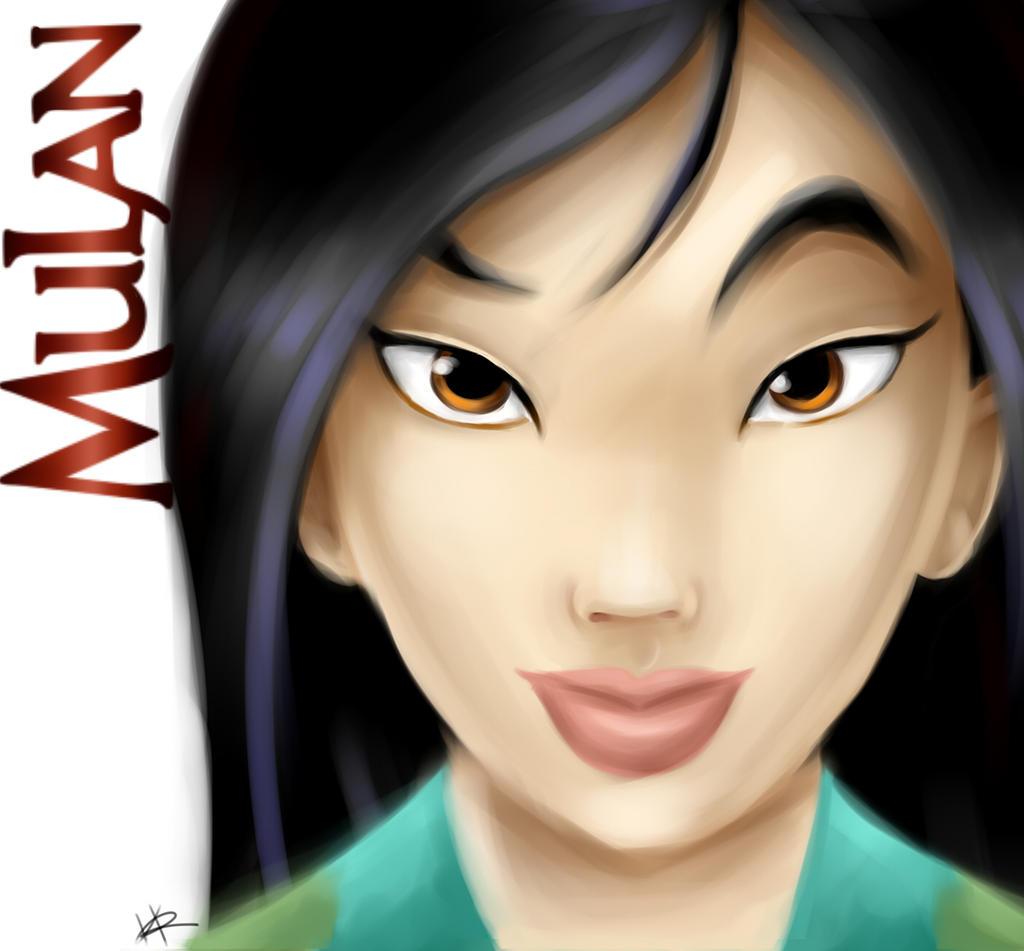 Mulan by Kaspiian