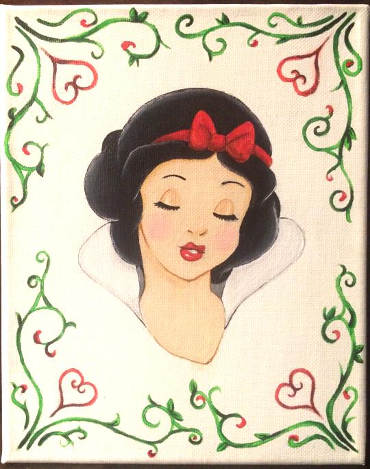 Snow White by Kaspiian