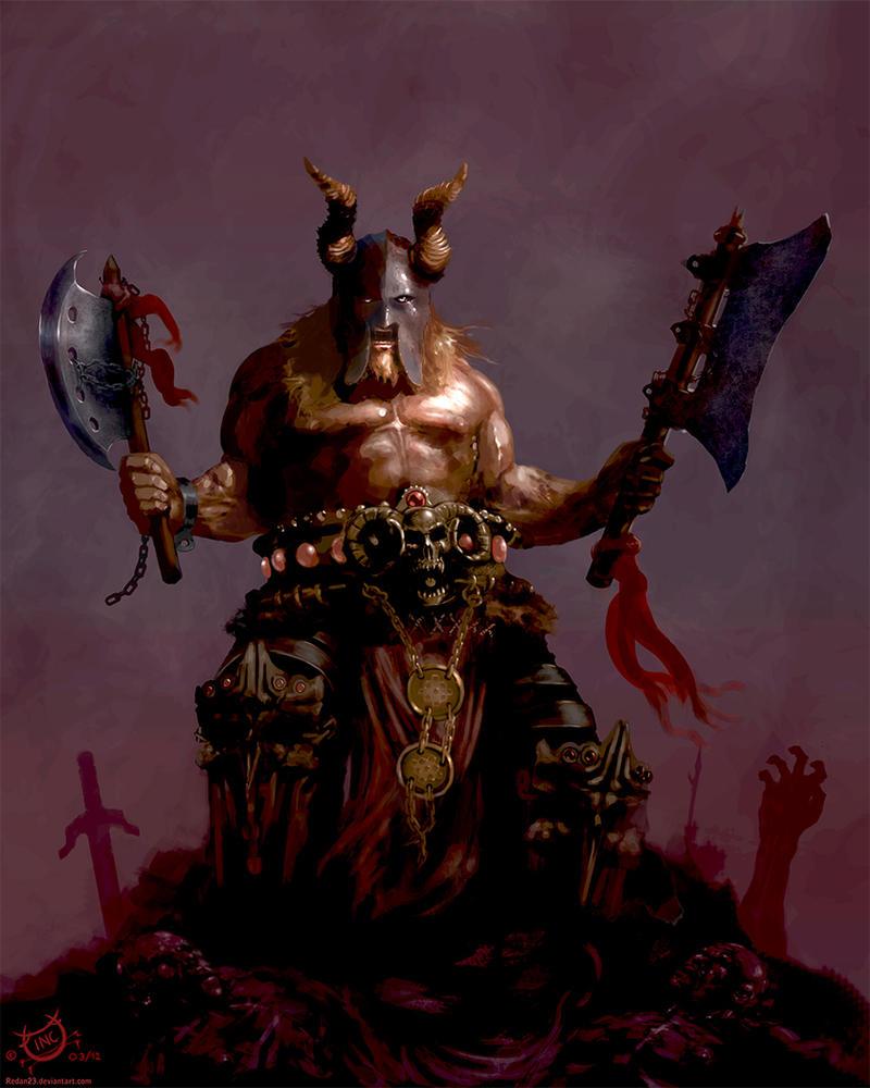 Barbarian by Redan23